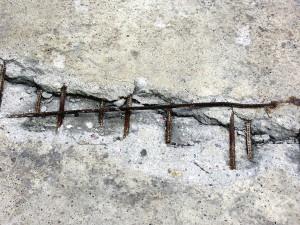 老化した鉄筋