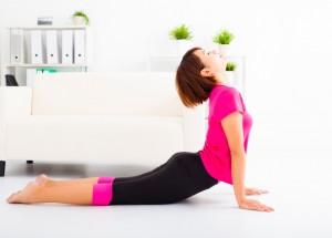 腸腰筋を伸ばす-1