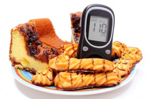 血糖値を抑える