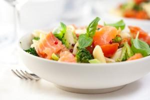 サーモン&野菜