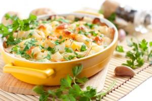 チキン玄米グラタン