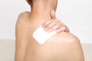 筋肉痛と湿布