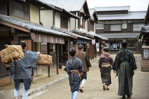 江戸時代の歩き方