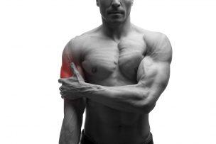 上腕筋の筋膜リリース