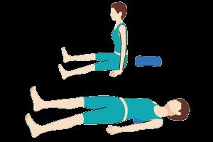 肩こりの筋膜リリース3-1