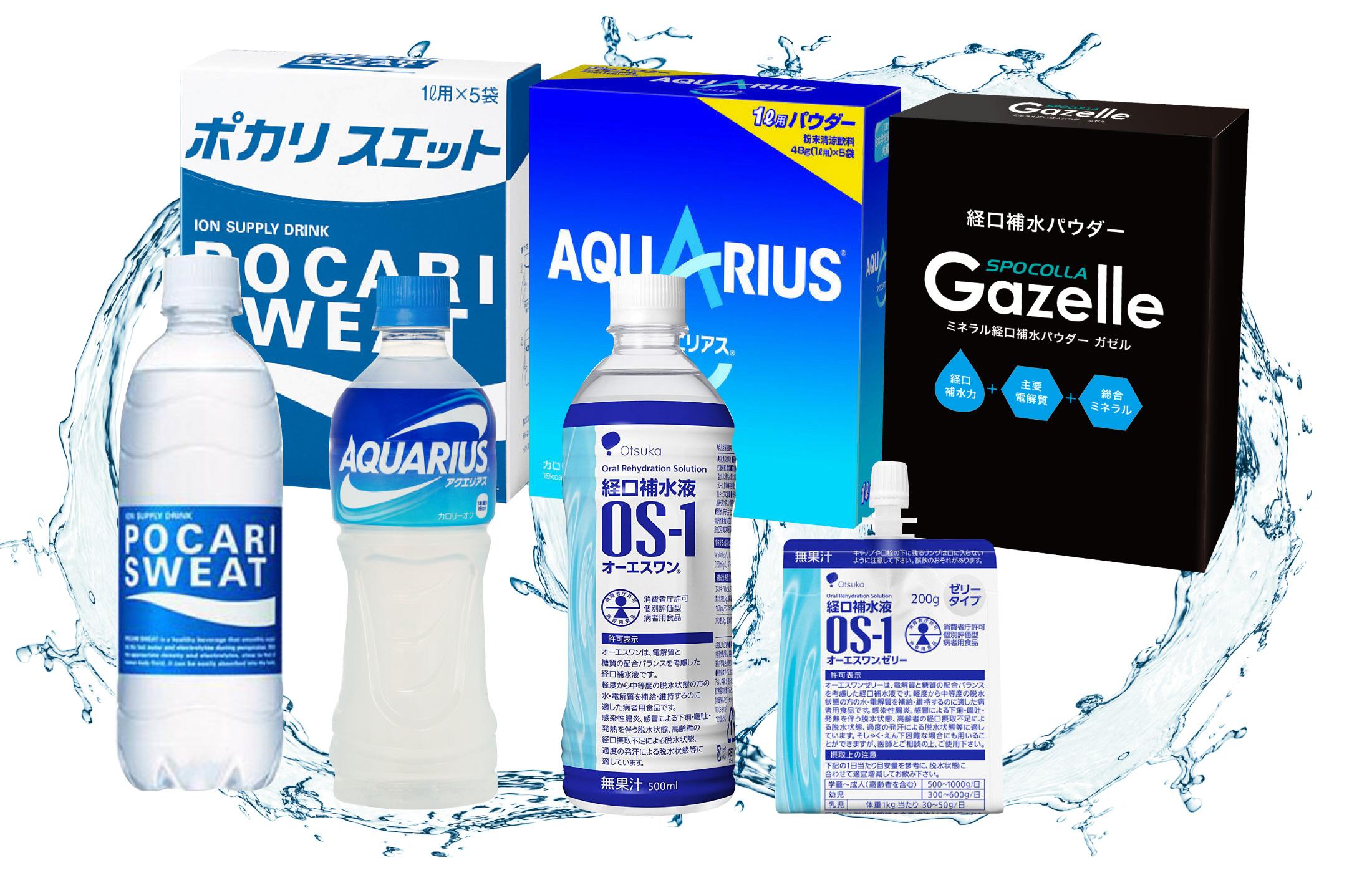 熱中症予防の飲料