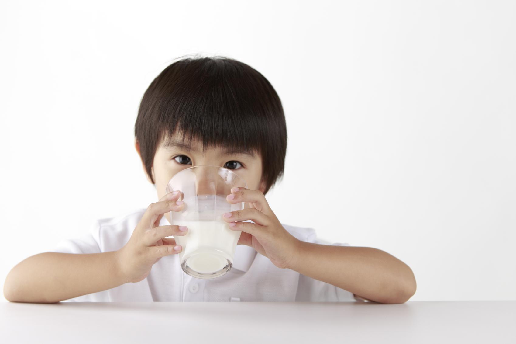 牛乳の飲み過ぎ