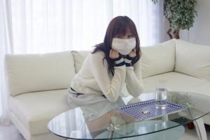 免疫低下で風邪ぎみ