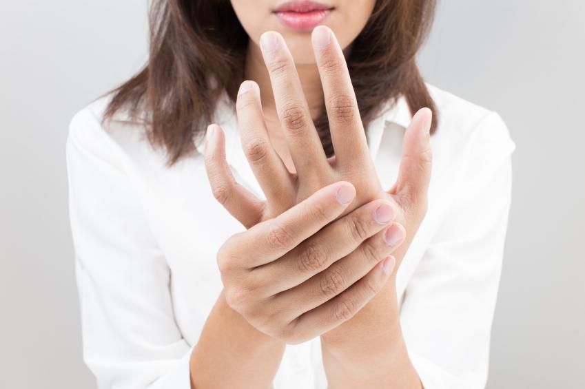 指の腱鞘炎「ばね指」
