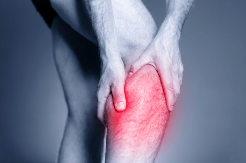 足がつる症状