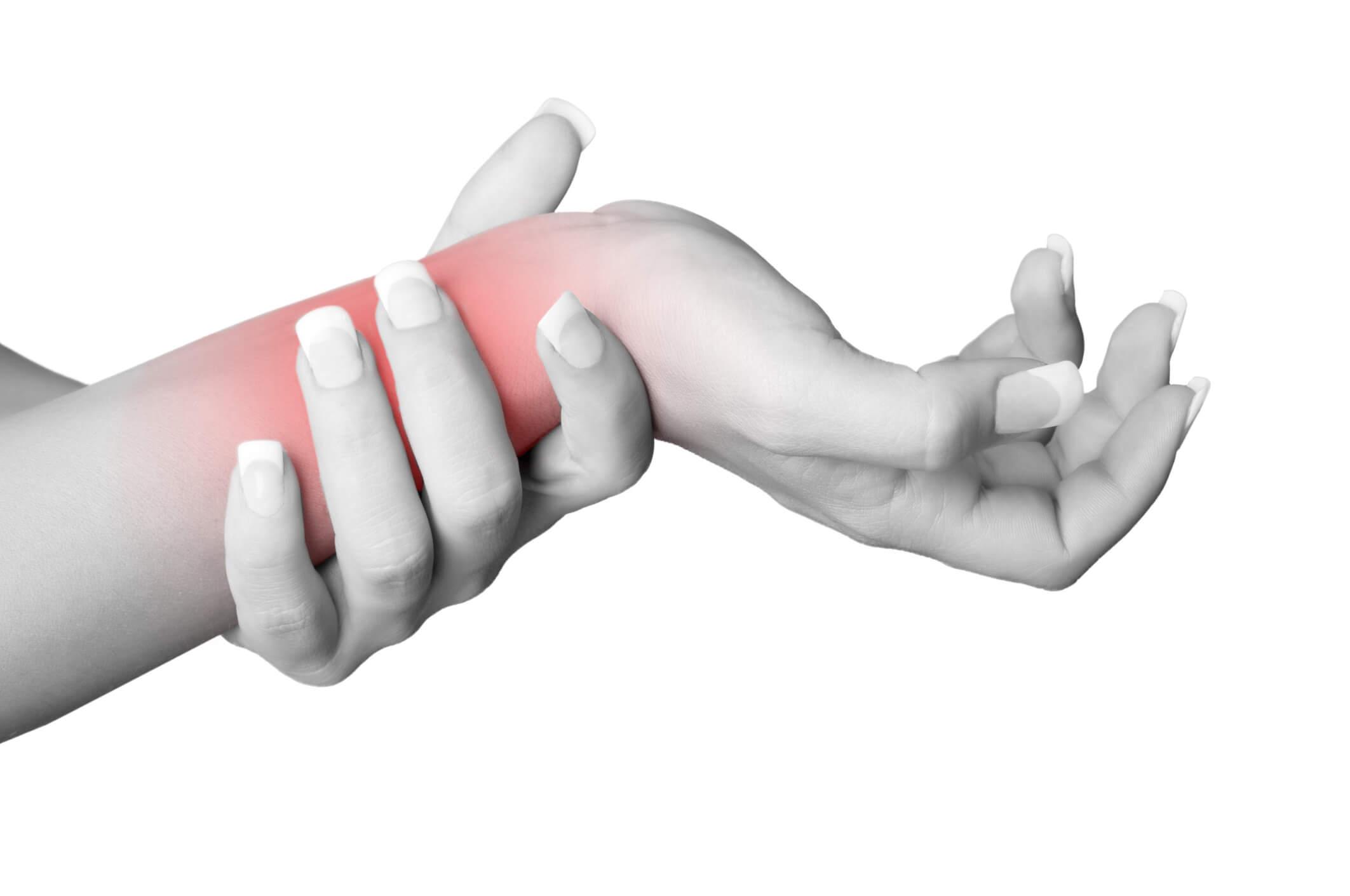 手首の筋膜リリース
