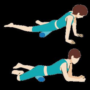 股関節の筋膜リリース