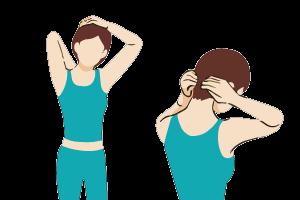 頭痛の筋膜リリース2