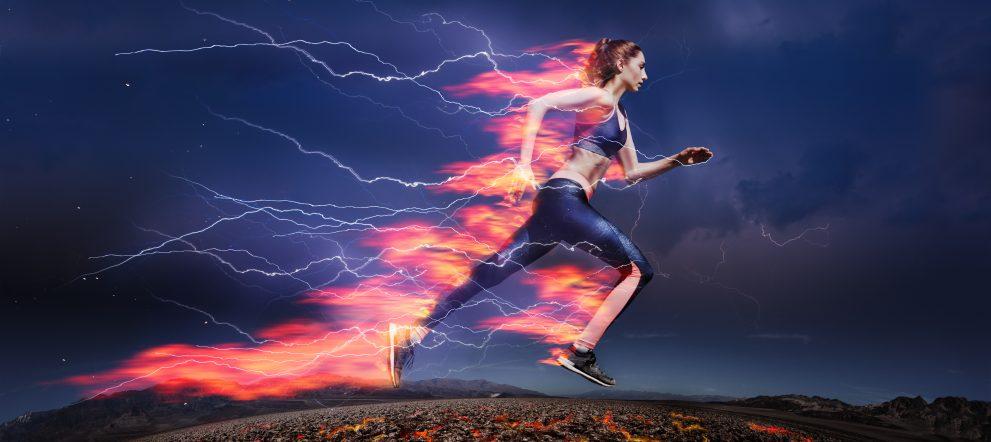 エネルギー代謝!燃えるアスリート
