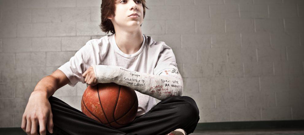 スポーツと骨折
