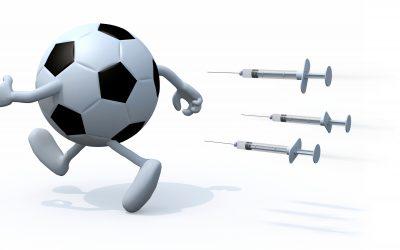 サッカーのドーピング違反