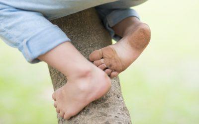 踵が痛むシーバー病
