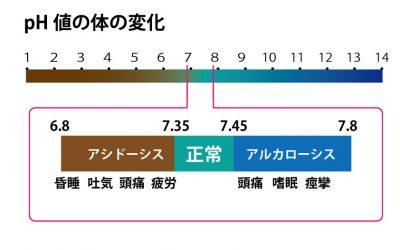 pHと体の変化